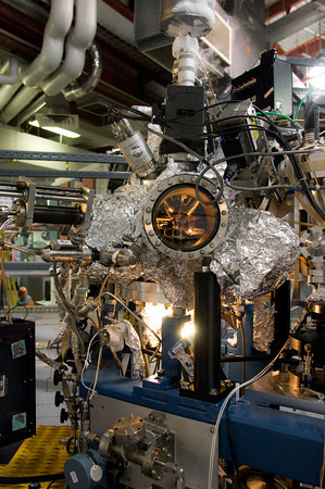 Machine on a beamline