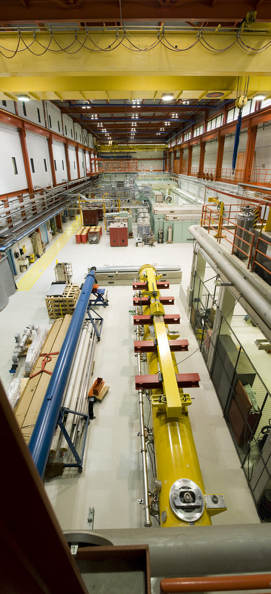 Accelerator R&amp;D takes over the New Muon Lab at Fermilab. Eventually the building will have to be expanded to make room for more components