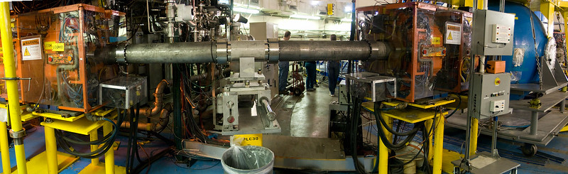 A panorama of the proton radiography beamline